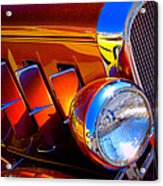 1932 Chevy Coupe Acrylic Print by David Patterson