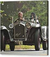 1933 Alfa Romeo 8c Corto Touring Spyder Acrylic Print by Jill Reger