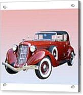 1935 Auburn 8 Phaeton 851 Acrylic Print by Jack Pumphrey