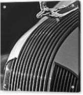 1935 Pontiac Sedan Hood Ornament 3 Acrylic Print by Jill Reger
