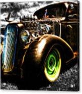 1936 Chevrolet Sedan Acrylic Print by Phil 'motography' Clark