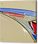 1940 Chevrolet Pickup Hood Ornament 2 Acrylic Print by Jill Reger