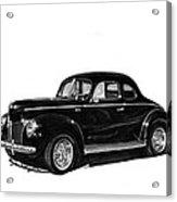1940 Ford Restro Rod Acrylic Print by Jack Pumphrey