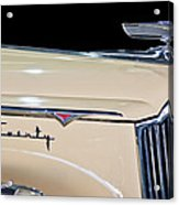 1941 Packard Hood Ornament Acrylic Print by Jill Reger
