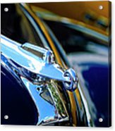 1947 Packard Hood Ornament 4 Acrylic Print by Jill Reger