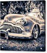 1949 Buick Eight Super Acrylic Print by motography aka Phil Clark