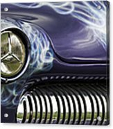 1949 Mercury Eight Hot Rod Acrylic Print by Tim Gainey
