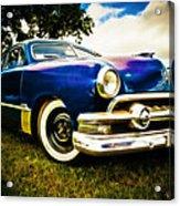 1951 Ford Custom Acrylic Print by Phil 'motography' Clark