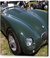 1952 Jaguar Xk120 Roadster 5d22967 Acrylic Print by Wingsdomain Art and Photography