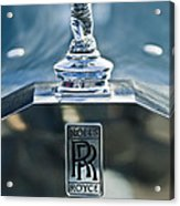 1952 Rolls-royce Hood Ornament Acrylic Print by Jill Reger