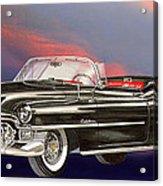 1953  Cadillac El Dorardo Convertible Acrylic Print by Jack Pumphrey