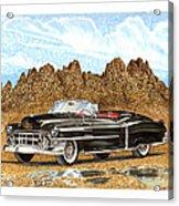 1953 Cadillac Eldorado Biarritz Acrylic Print by Jack Pumphrey