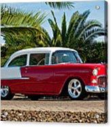 1955 Chevrolet 210 Acrylic Print by Jill Reger