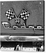 1956 Chevy 500 Series Photo 8 Acrylic Print by Anna Villarreal Garbis