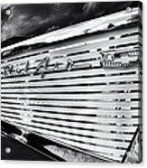 1957 Chevrolet Bel Air Monochrome Acrylic Print by Tim Gainey
