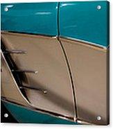 1961 Chevrolet Corvette Acrylic Print by David Patterson