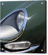 1961 Jaguar Xke Roadster 5d23322 Acrylic Print by Wingsdomain Art and Photography