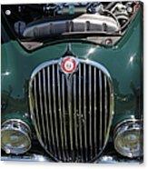 1962 Jaguar Mark II 5d23327 Acrylic Print by Wingsdomain Art and Photography