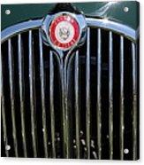 1962 Jaguar Mark II 5d23328 Acrylic Print by Wingsdomain Art and Photography