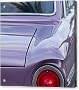 1963 Ford Falcon Tail Light Acrylic Print by Jill Reger