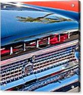 1963 Ford Galaxie 500xl Taillight Emblem Acrylic Print by Jill Reger