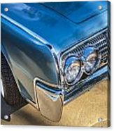 1964 Lincoln Continental Convertible  Acrylic Print by Rich Franco