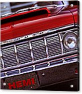 1964 Plymouth Savoy Acrylic Print by Gordon Dean II