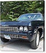 1968 Chevrolet Impala Sedan Acrylic Print by John Telfer