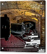 19th Century Cannon Line Acrylic Print by Optical Playground By MP Ray