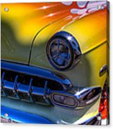1954 Chevy Bel Air Custom Hot Rod Acrylic Print by David Patterson
