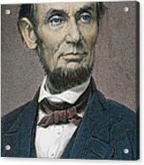 Abraham Lincoln Acrylic Print by American School