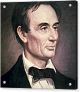 Abraham Lincoln Acrylic Print by George Peter Alexander Healy