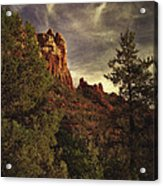 Another View Of Snoopy Rock Acrylic Print by Robert Albrecht
