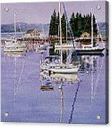 Boothbay Harbor Acrylic Print by Karol Wyckoff