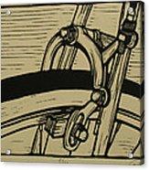 Brake Acrylic Print by William Cauthern