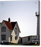 Cape Neddick Lighthouse Acrylic Print by Skip Willits