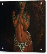 Celtic Spirit  Acrylic Print by Guillaume Bruno