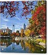 Charlotte North Carolina Marshall Park Acrylic Print by Jill Lang