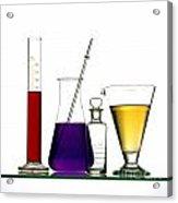 Chemistry Acrylic Print by Bernard Jaubert