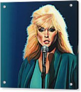 Deborah Harry Or Blondie Acrylic Print by Paul Meijering