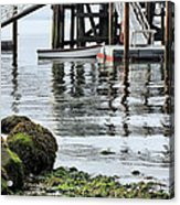 Dockside Acrylic Print by JC Findley