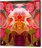 Flower Child Acrylic Print by Omaste Witkowski