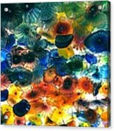 Glass Flowers Acrylic Print by Ernesto Cinquepalmi
