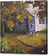 Grandma's House Acrylic Print by Bev Finger