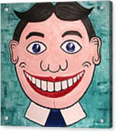 Happy Tilly Acrylic Print by Patricia Arroyo