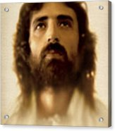 Jesus In Glory Acrylic Print by Ray Downing