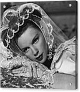 Judy Garland Acrylic Print by Retro Images Archive