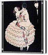 Karsavina Acrylic Print by Georges Barbier