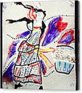 Kiganda Dance - Uganda Acrylic Print by Gloria Ssali