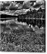 Lake Abanakee In The Adirondacks Acrylic Print by David Patterson